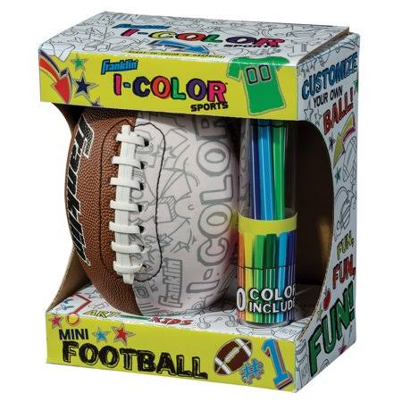 Franklin Sports I-Color Mini Football