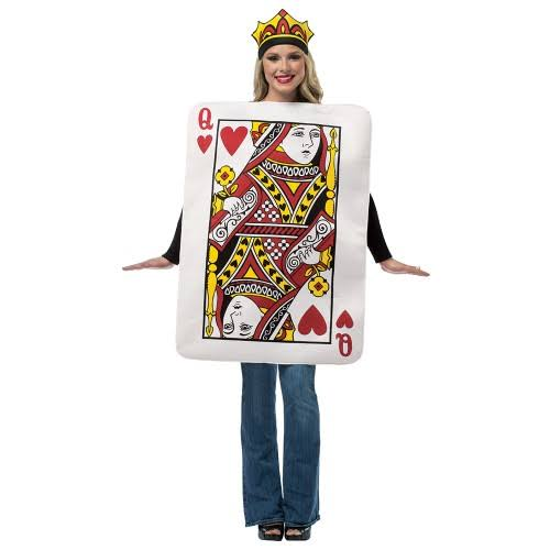 Queen of Hearts Card Costume Adult