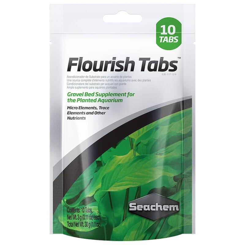 Seachem Flourish Tabs Aquarium Plant Food Supplement - 10 Count