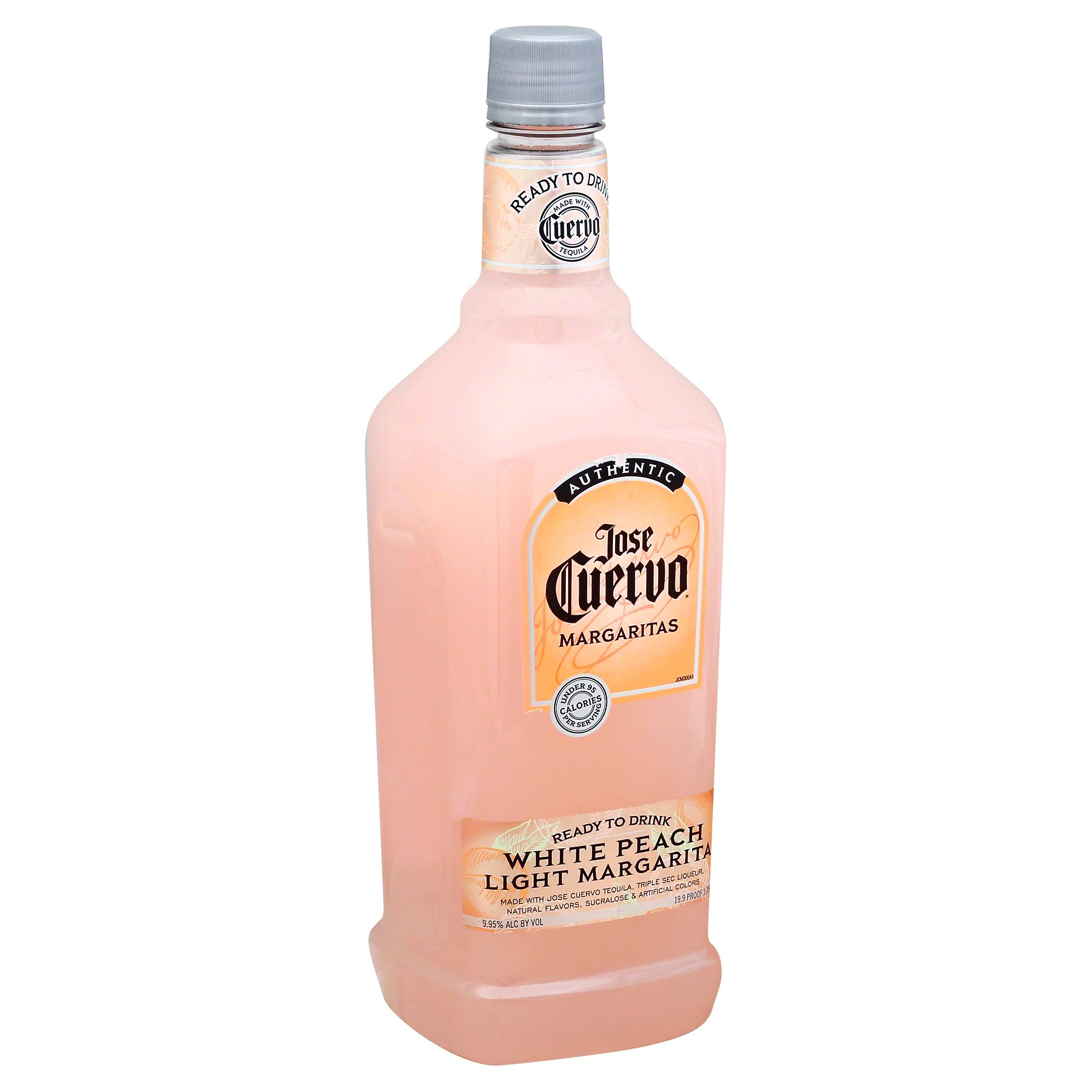 Jose Cuervo Light Margarita Mix - White Peach
