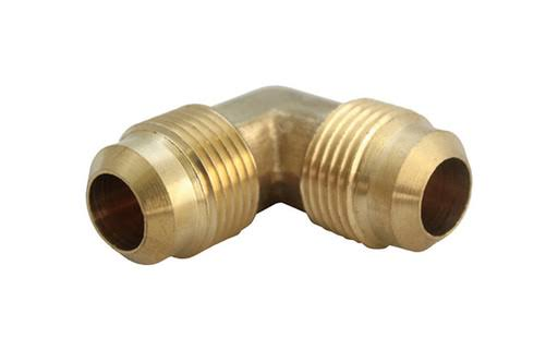 JMF 4506119 Flare Elbow - Brass