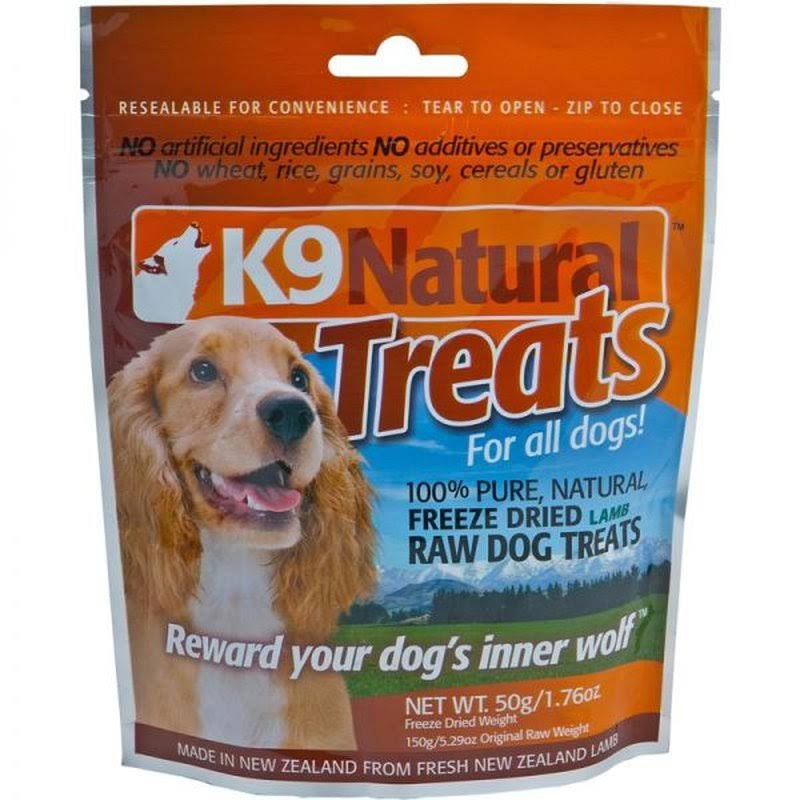 K9 Natural Dog Treats - Lamb, 1.76oz