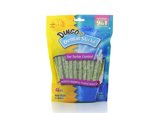 Dingo Dental Sticks - 48 Pack