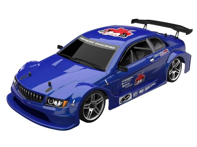 Redcat Racing Lightning EPX Drift 4WD RTR - Blue, 1:10 Scale