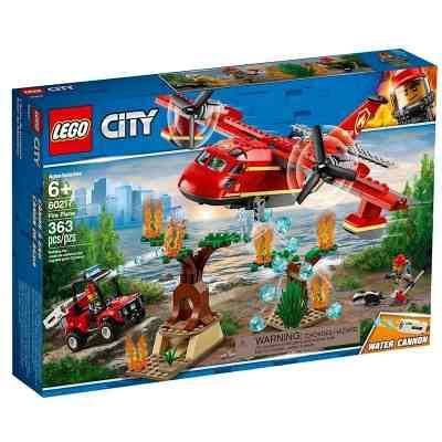 Lego City Fire Plane Building Kit - 363pcs
