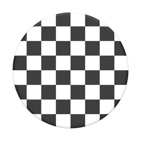 PopSockets - PopGrip - Checker Black