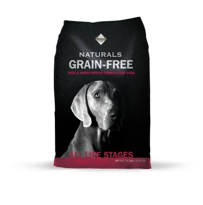Diamond Grain Free Pet Food - Beef and Sweet Potato, 14lbs