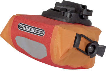 Ortlieb Micro Saddle Bag - Red/Orange