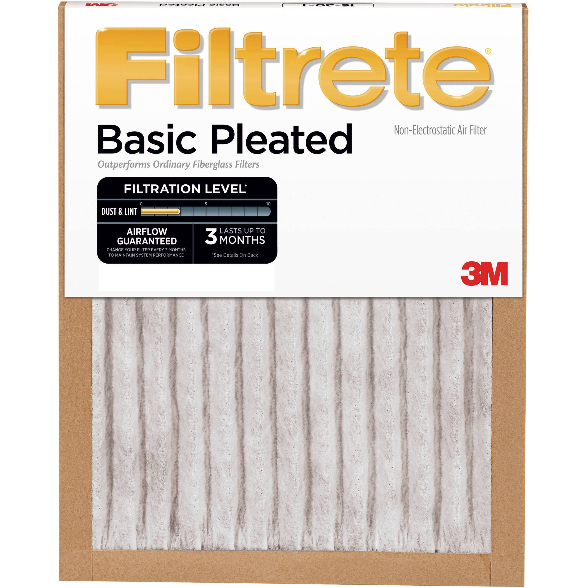 3M Highland Basic Pleated Air Filter