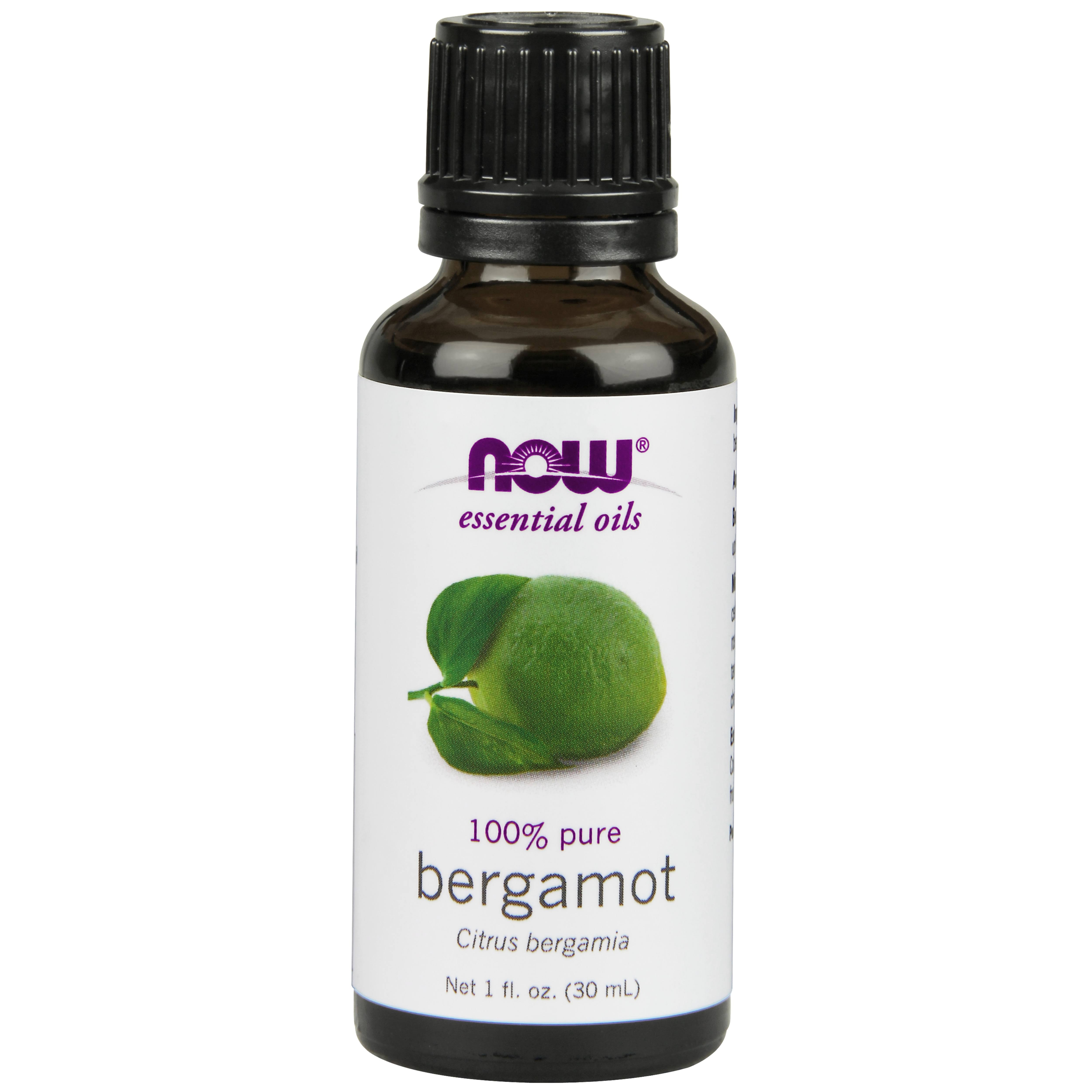Now Essential Oils, 100% Pure, Bergamot - 1 fl oz