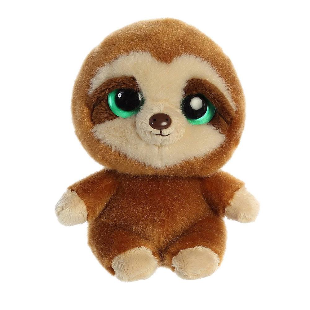 Aurora World Plush - YooHoo Friends - Slo The Sloth (5 inch)