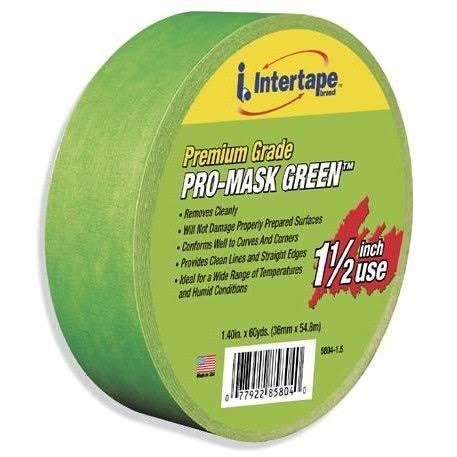 Intertape Polymer Group 8-Day Painters Masking Tape - Green