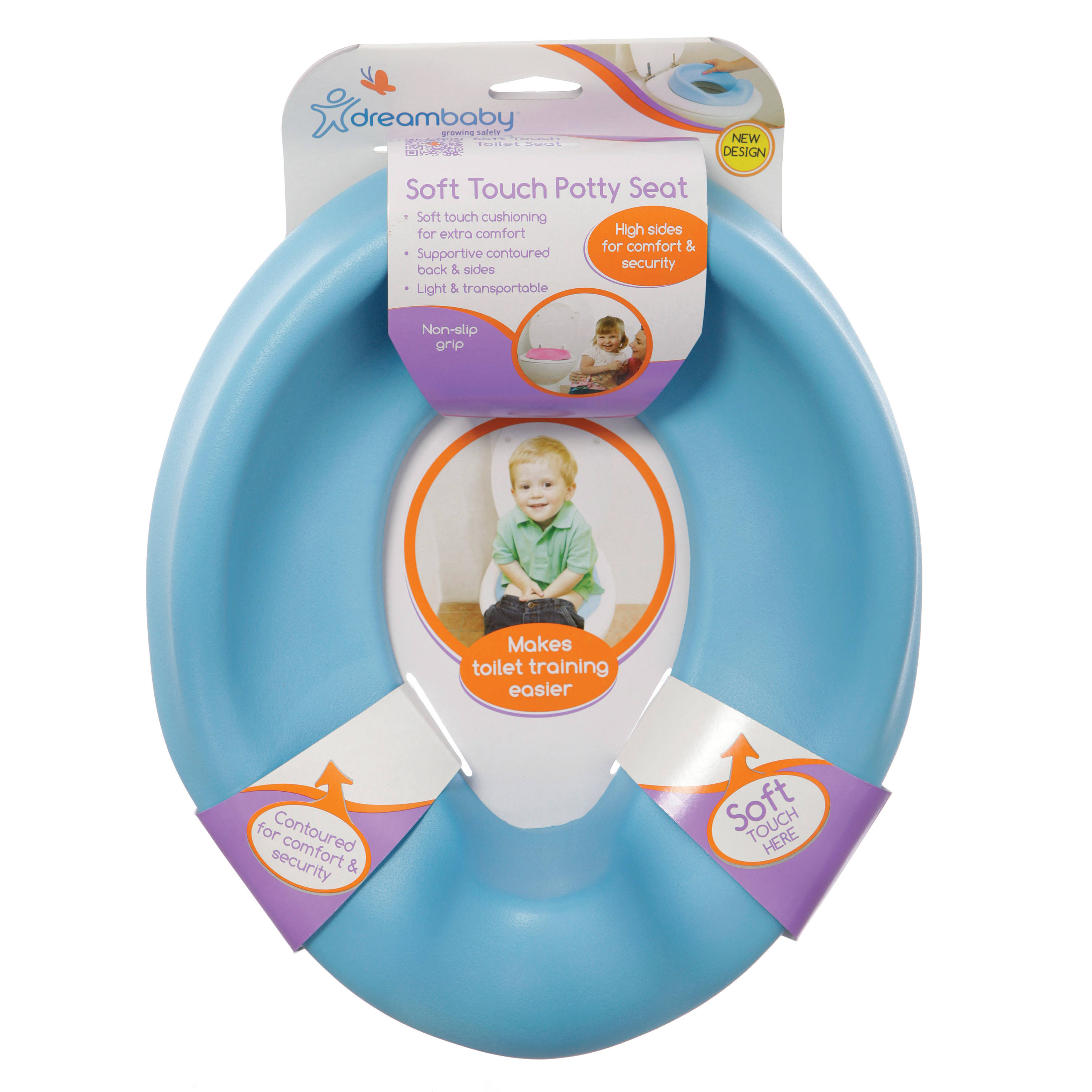 Dreambaby Soft Touch Potty Seat (Blue)