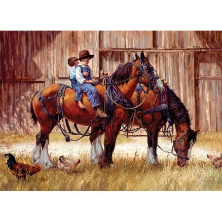 Cobble Hill Back to The Barn 1000 Piece Jigsaw Puzzle