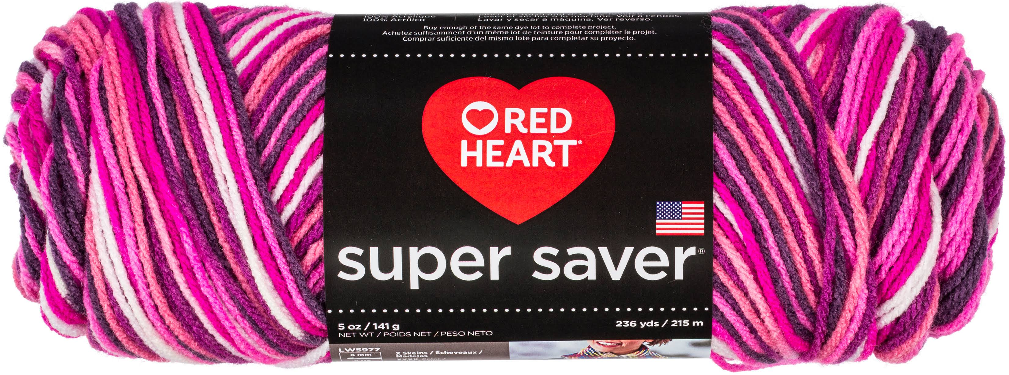 Red Heart Super Saver Pooling Yarn - Berry