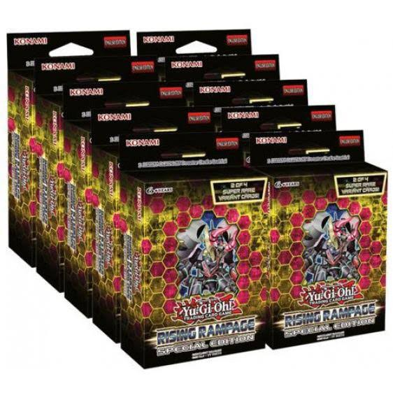 Yu-Gi-Oh Rising Rampage Special Edition Box