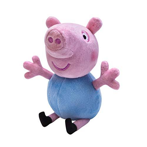 Peppa Pig Interactive Stuffed Toy - George, Small, 7""