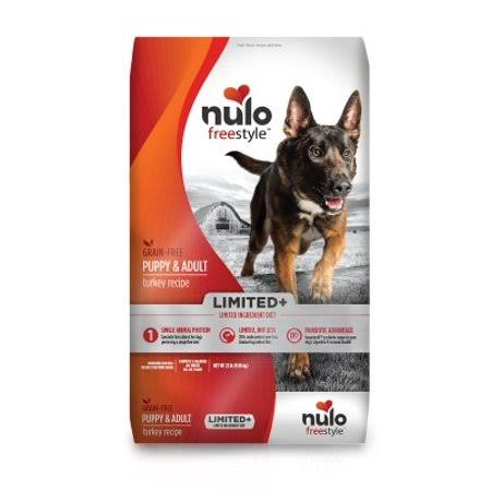 Nulo Freestyle Limited Ingredient Grain Free Dry Dog Food, Turkey / 22 lb