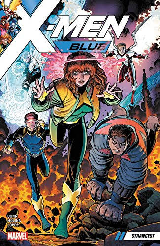 X-Men Blue: Volume 1, Strangest ( 2017) - Marvel Comics