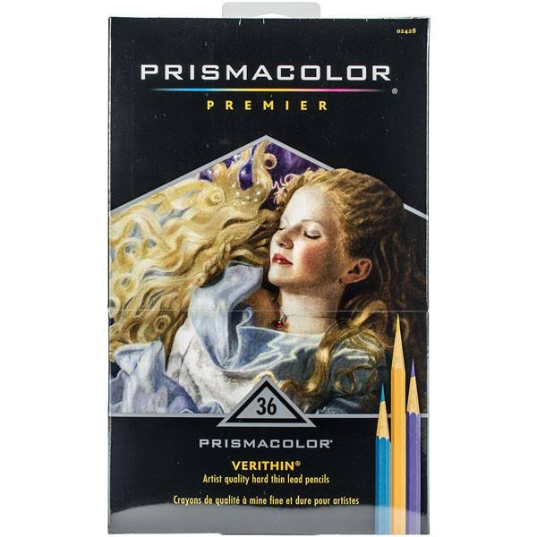 Prismacolor Premier Verithin Colored Pencils - 36 Pieces