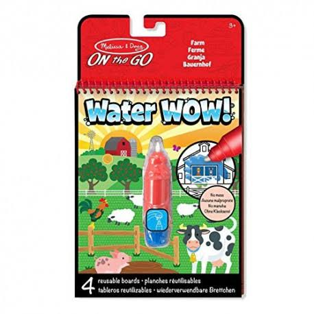 Melissa and Doug on The Go Water WOW Travel Activity Book - Farm