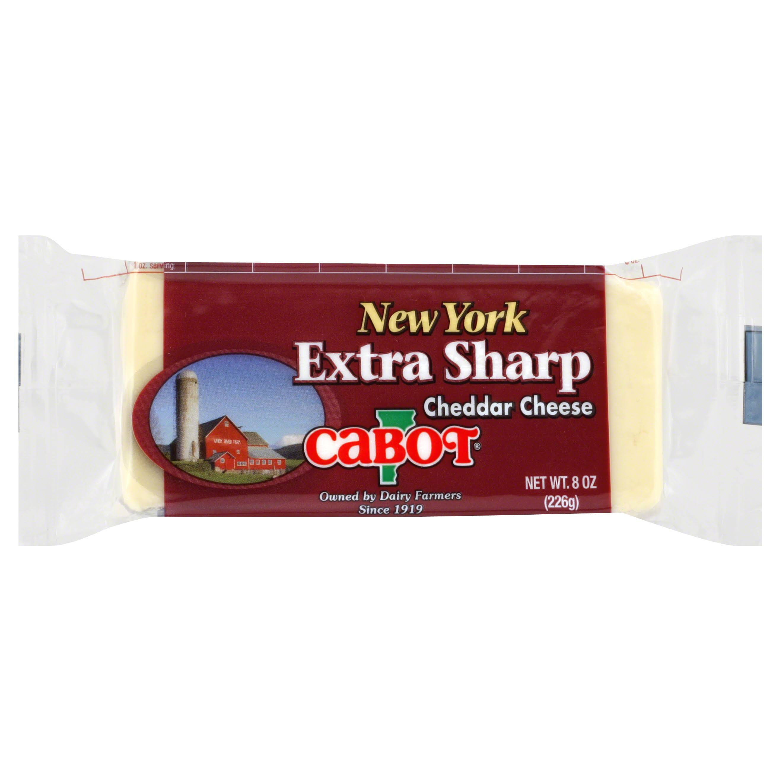 Cabot Extra Sharp Cheddar Cheese - New York, 8oz