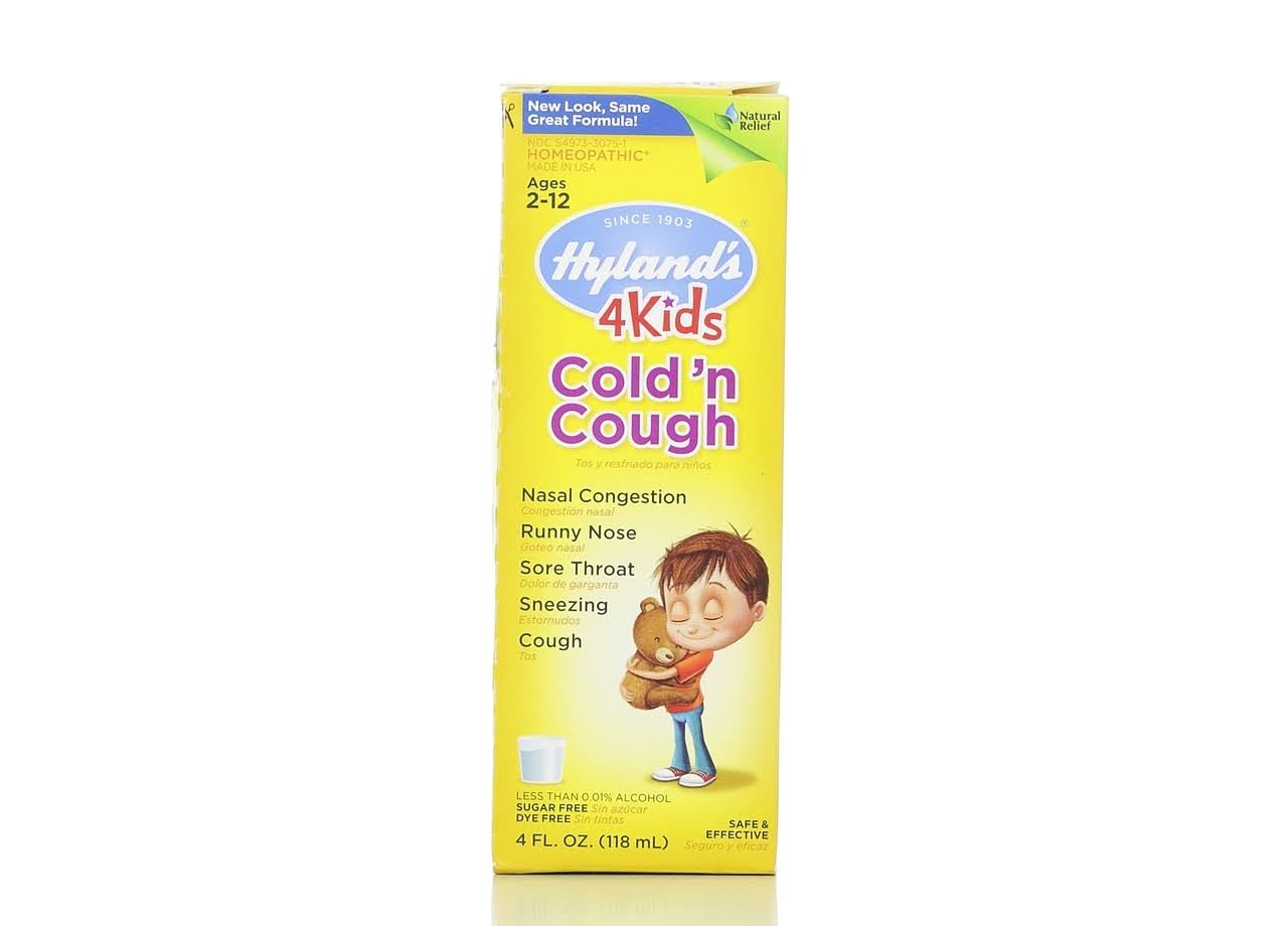 Hyland's 4 Kids Cold'N Cough Relief - 118ml