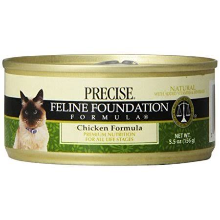 Precise Naturals Canned Cat Food - Chicken, 5.5oz