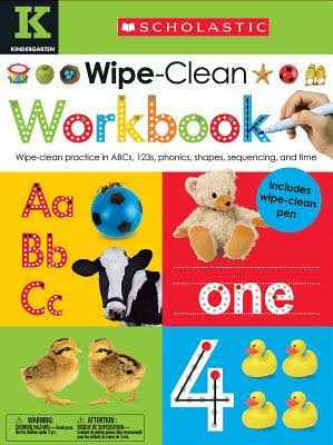 Wipe Clean Workbooks: Kindergarten - Scholastic