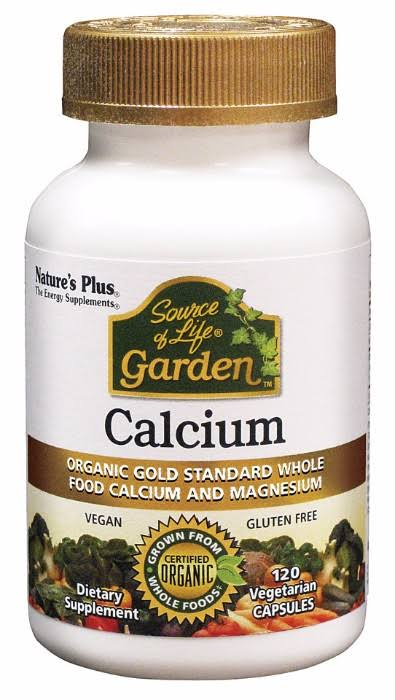 Nature's Plus Source Of Life Garden Calcium - 120 Vegetarian Capsules