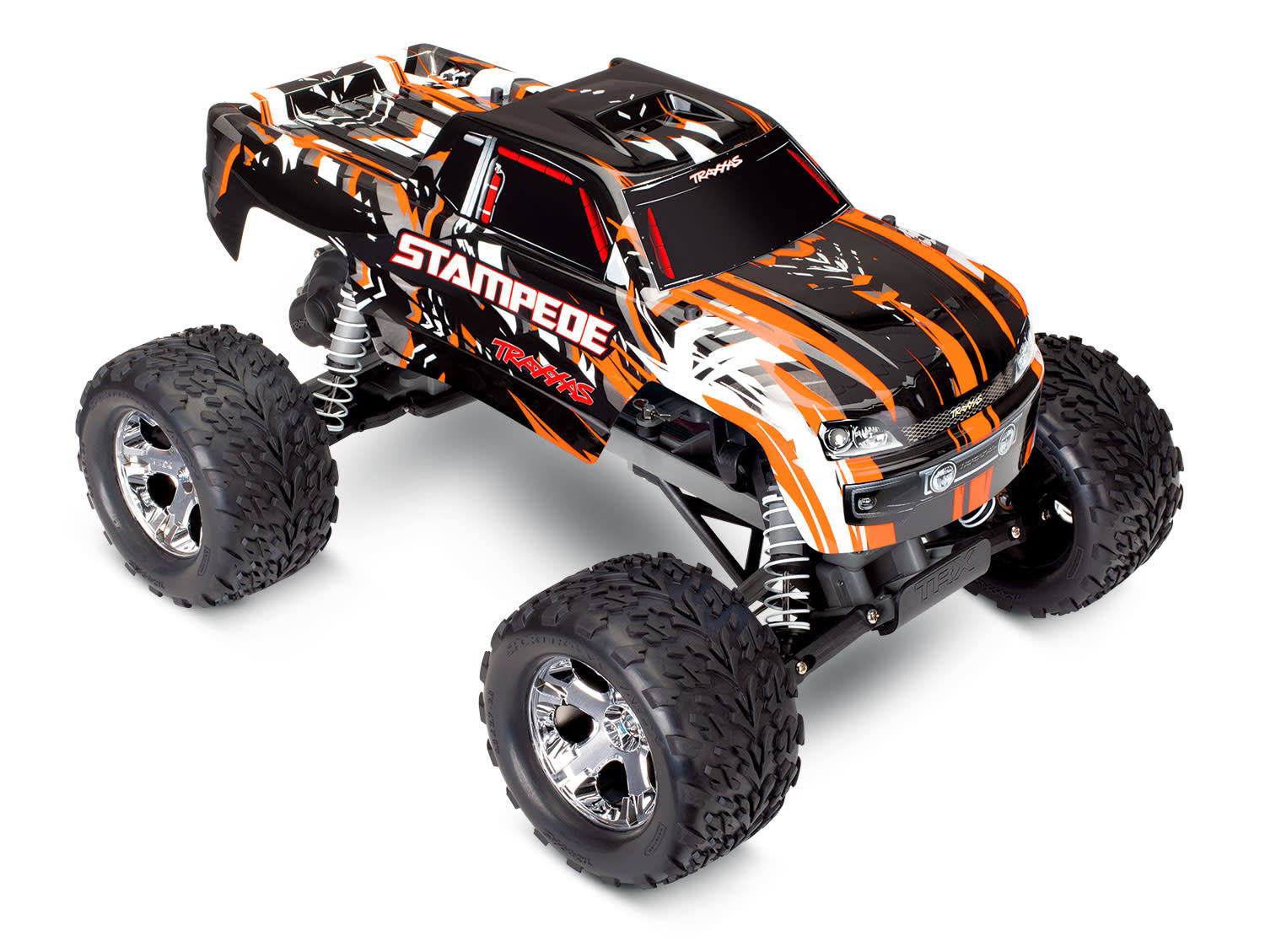 Traxxas 36054-4 - Stampede XL-5 1/10 2WD Monster Truck RTR, Orange