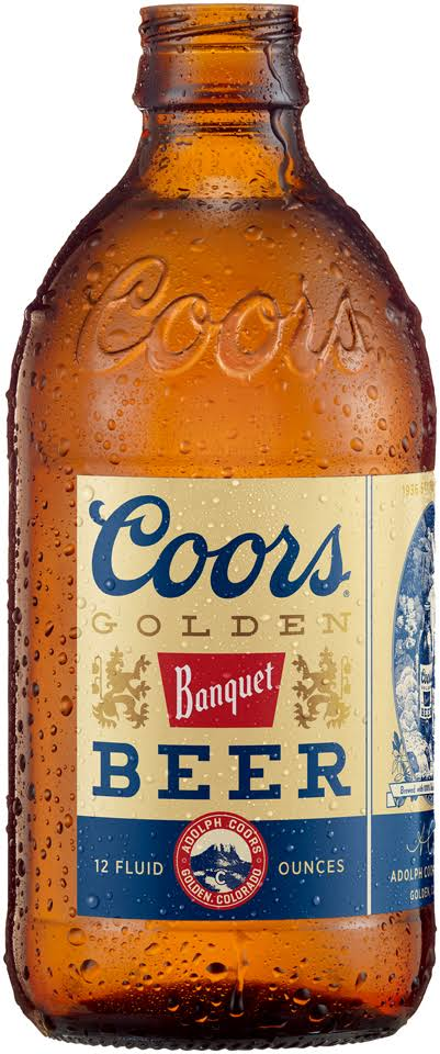 Coors Banquet Beer 6-12 Fl. Oz. Bottles
