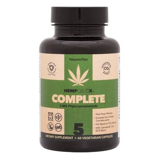 Nature's Plus HempCeutix Complete 5mg