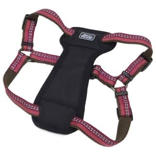 Coastal Pet K9 Explorer Reflective Adjustable Padded Harness - Berry Red, Medium