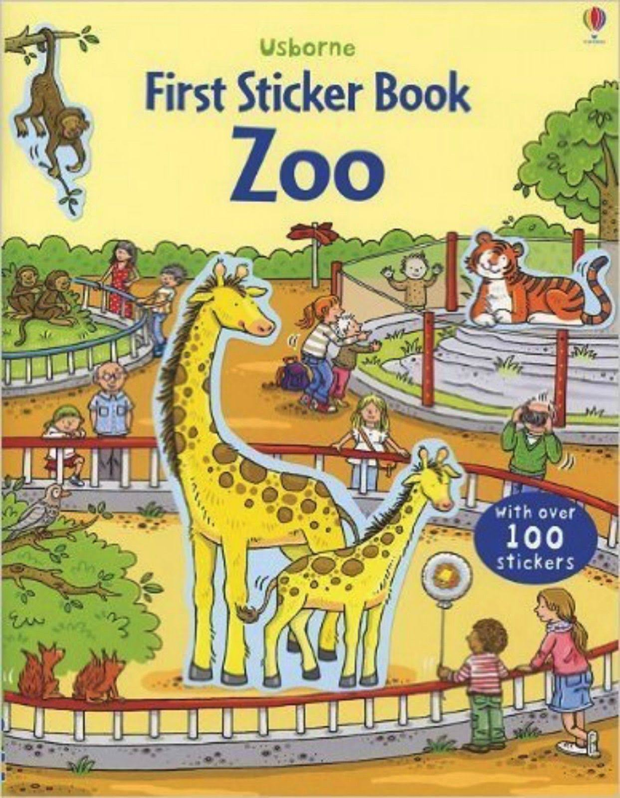 Usborne First Sticker Book - Zoo