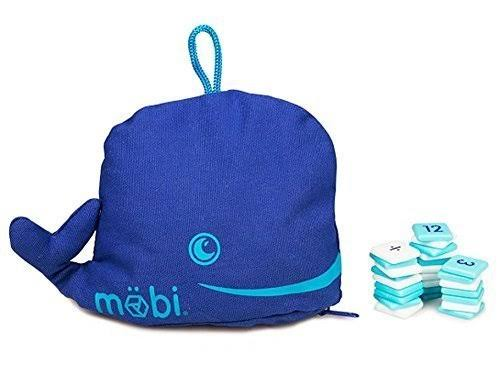 Mobi The Numerical Tile Game In A Whale Pouch