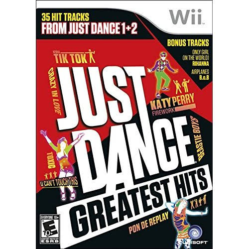 Just Dance Greatest Hits - Nintendo Wii