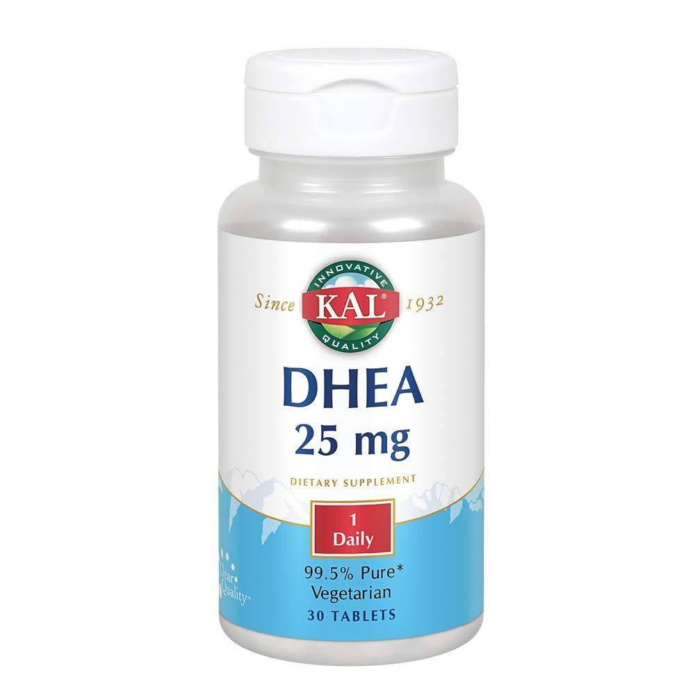 Kal Dhea Dietary Supplement - 30 Vegetarian Tablets