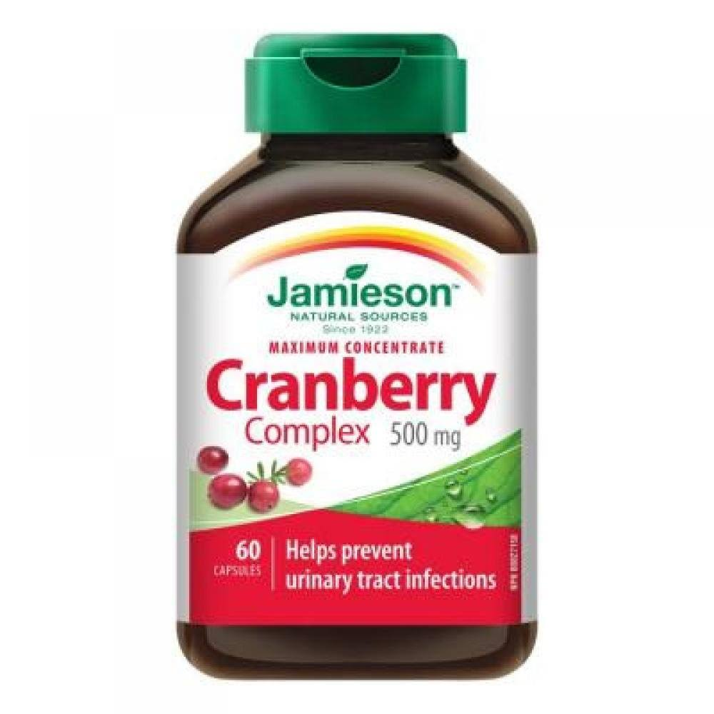 Jamieson Maximum Concentrate Cranberry Complex Dietary Supplement - 60ct