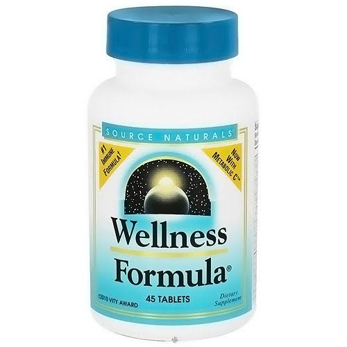 Source Naturals Wellness Formula, Herbal Defense Complex - 45 tablets