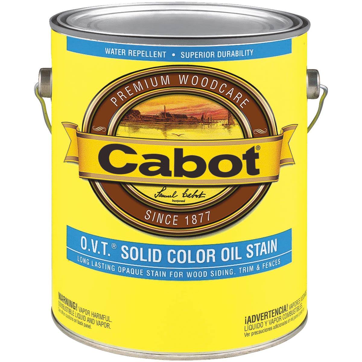 Cabot O.V.T. Solid Color Oil Stain