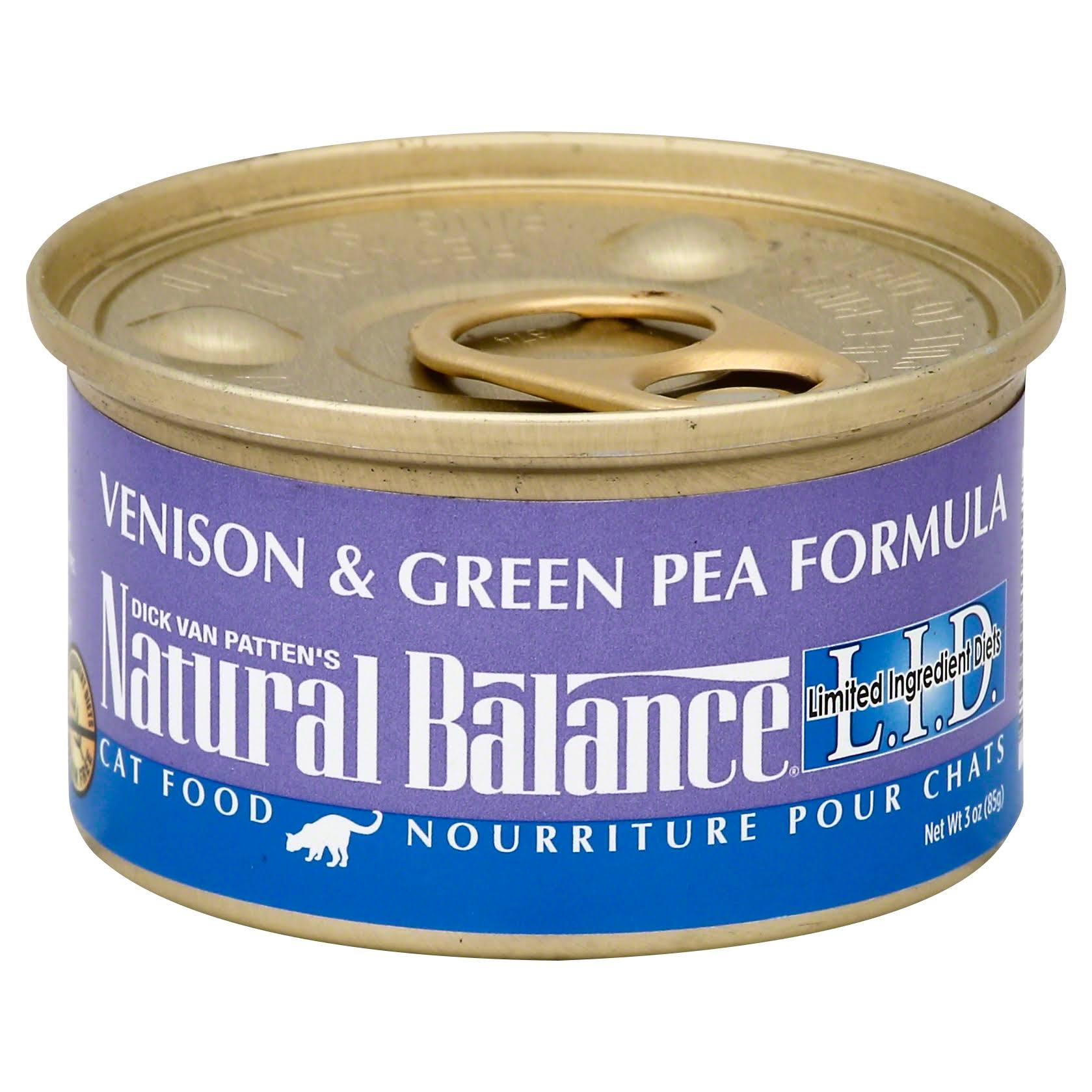 Natural Balance Cat Food - Venison & Green Pea Formula