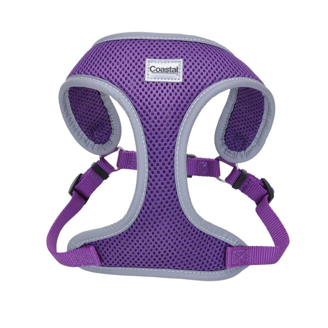 Coastal Pet Products Mesh Reflective Harness - Purple, Small
