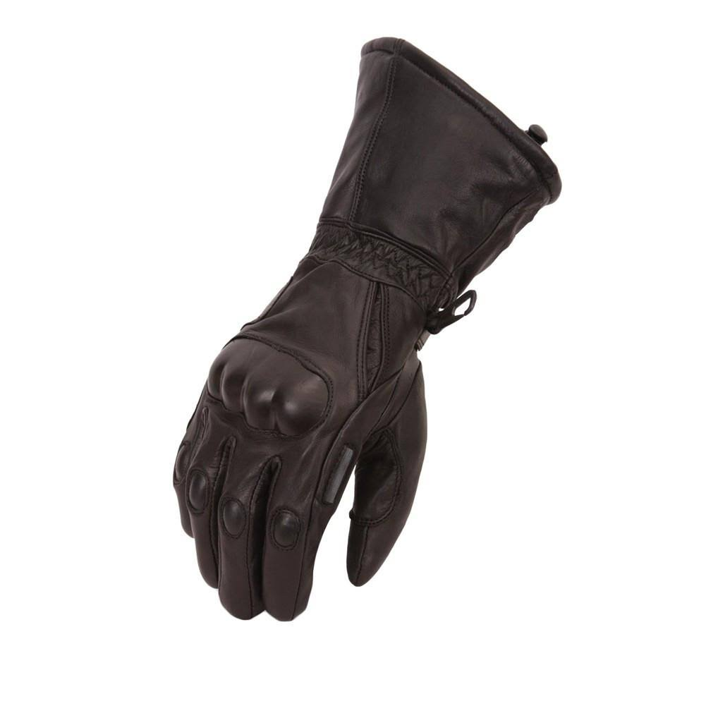 First Manufacturing Waterproof Hard Knuckle Gloves, Black