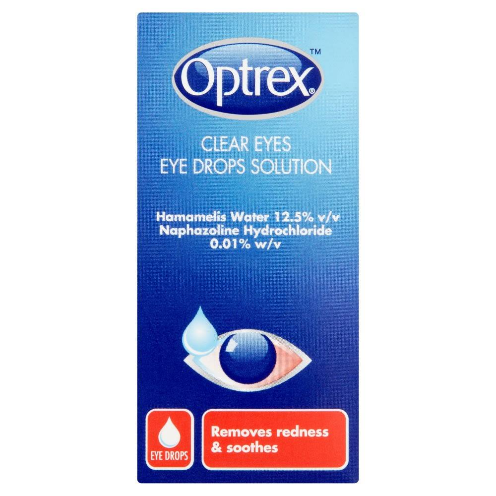 Optrex Clear Eyes Eye Drops Solution - 10ml