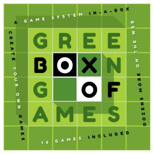 Neste Trekk Green Box of Games Board Game