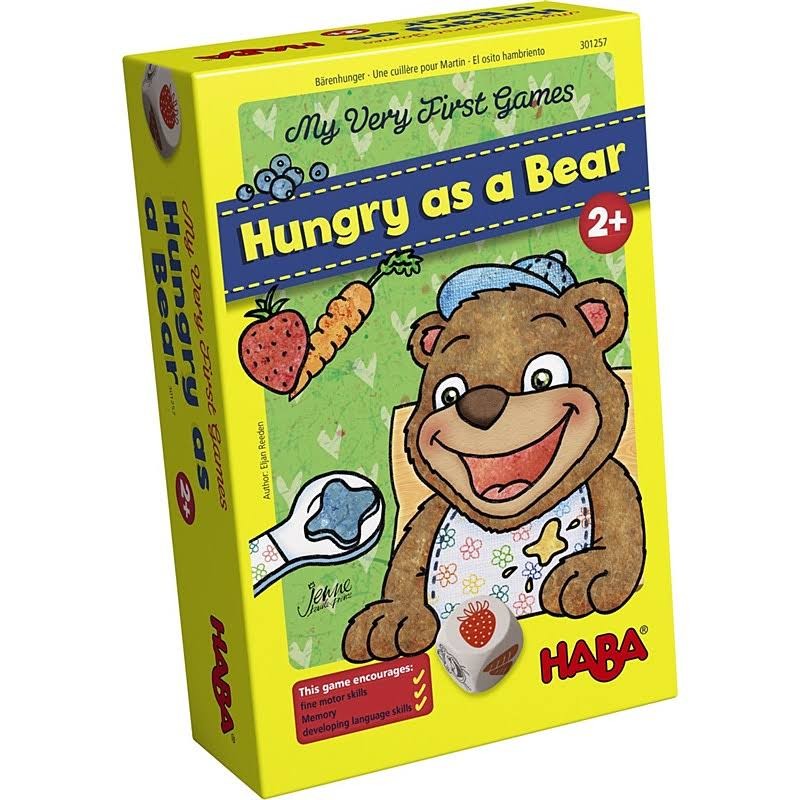 Haba Very First Hungry Bear Game