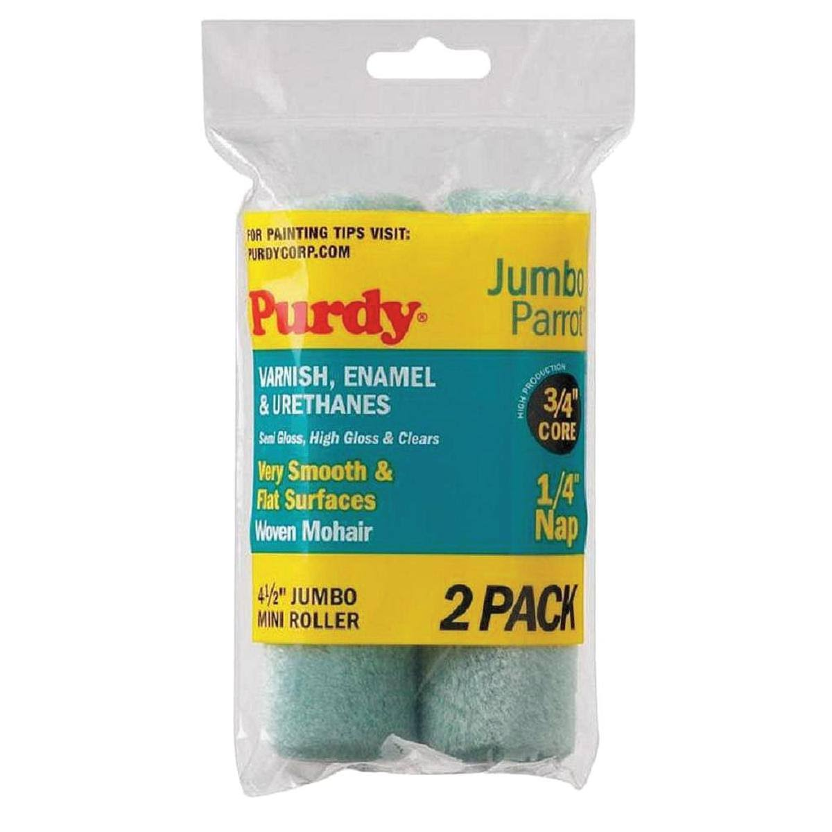 Purdy 140624040 Mini Paint Roller Cover - 2 pack