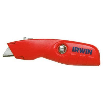 Irwin Tools Self-Retracting Safety Knife - Red