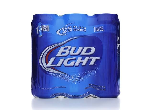 Bud Light Beer - 25oz, 3 Pack